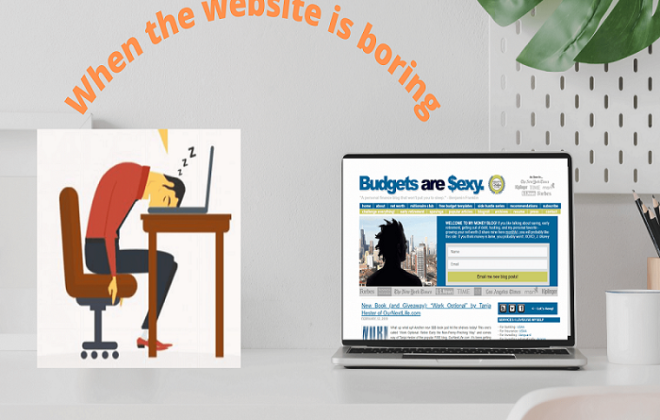 Why Your Website is boring?