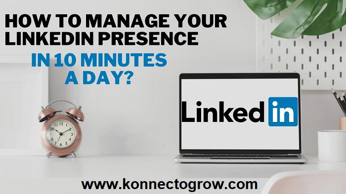 LinkedIn by Konnectogrow